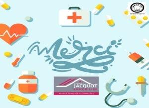 Read more about the article Un grand merci aux personnels soignants